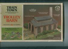 Backmann Train Town N Scale Trolley Barn Kit #57-1555 NOS