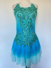 Figure Ice Skating Dress Twirling Costume Adult Xl