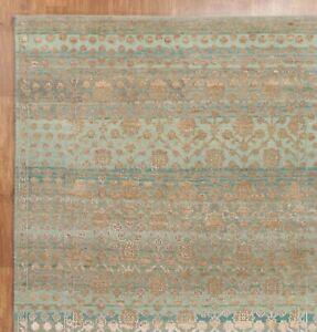 New Modern Stripe 5'7''x7'10'' ft Handmade Oxidize Vintage Finish  Area Rugs
