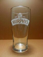 Murphy's Irish Beer Glass Etched Cork Ireland Brewery