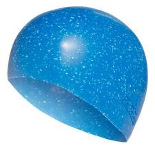 ADIDAS BONNET DE NATATION texturé accessoires Silicone Piscine Bleu Unisexe