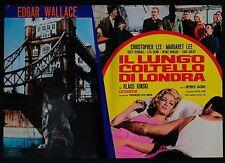 FOTOBUSTA 5, IL LUNGO COLTELLO DI LONDRA Circus of Fear THRILLER, WALLACE POSTER