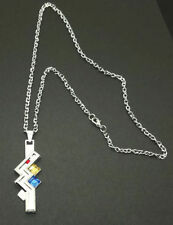 Anime Final Fantasy FF13 Lightning Crystal Pendant Necklace Weapon Cosplay Gift