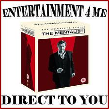 THE MENTALIST -COMPLETE SERIES- SEASONS 1 2 3 4 5 6 & 7 **BRAND NEW DVD BOXSET**