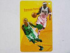 NBA Dallas Mavericks JASON TERRY & Chicago Bull CHRIS DUHON Basketball Card NICE