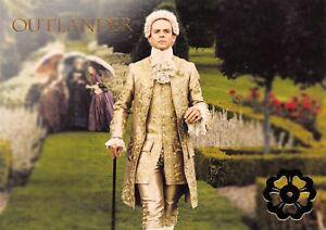 Outlander Season 2 GOLD JACOBITE GARDENS VERSAILLES Insert V7 / KING LOUIS XV