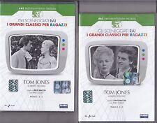 2 Dvd Serie del drama Rai «TOM JONES con Pino Chalmers completa nuevo 1960