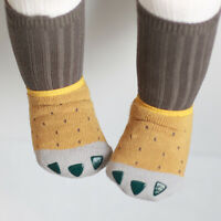 Baby Boy Girl Kids Cartoon Cotton Socks Toddler Infant Anti-Slip Soft Sock Shoes