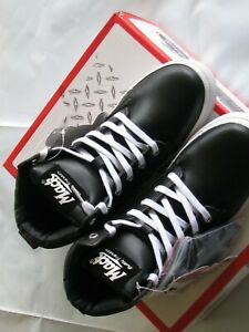 MACK BUDDY Junior Lace-Up High Top Boots AU Size 3 Black