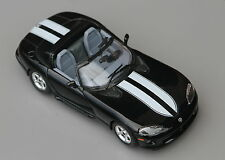 Burago Dodge Viper RT/10 1:24 Diecast model Rare new old stock. Black / white