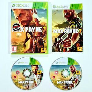 Rockstar XBOX 360 Spiel MAX PAYNE 3 uncut/ungeschnitten d. PAL Shooter/Gangster