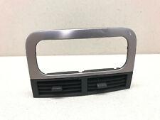 99-04 Jeep Grand Cherokee Center Dash Air Vent Trim Vents Factory Black/Silver