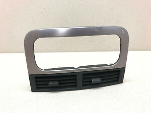 99-04 Jeep Grand Cherokee Center Dash Air Vent Trim Vents Factory Black/Silver