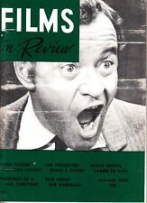 Films In Review June-July 1970 Alexis Smith Edwin S. Porter Film Composer