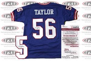 Lawrence Taylor Signed New York Custom Pro Style Jersey JSA
