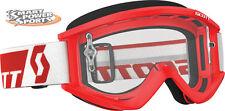 2017 Scott Recoil XI Adult Goggles -RED- Motocross Dirt Bike ATV UTV MTB BMX