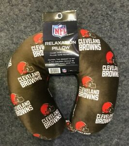 Cleveland Browns Pegasus Relaxation Travel Neck Soft Pillow TSA Approved