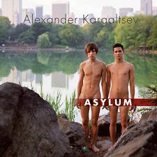 ASYLUM BOOK gay interest HARDCOVER nude man