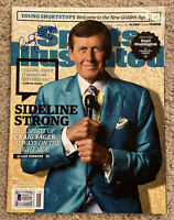 CRAIG SAGER Signed 2016 Sports Illustrated Beckett BAS Z45130 NBA Northwestern U