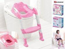 TODDLER & CHILD POTTY TRAINING TOILET SEAT & STEP LADDER - POTTY TRAINING SYSTEM