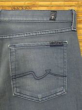 7 For All Mankind GINGER W30xL34 Low Rise Slim Fit Wide Flare Trouser Peru
