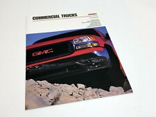 2000 GMC Sierra Classic Sonoma Safari Savana Commercial Trucks Brochure