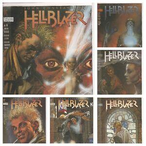 °HELLBLAZER #78 bis 83 RAKE AT THE GATES OF HELL 1 bis 6 von 6 ° US Vertigo 1994