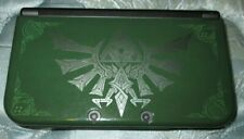 Nintendo New 3DS XL 16GB Handheld System - Black(zelda cover)