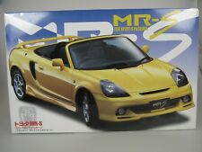 TOYOTA MR-S MRS with Fun Sports Package Yellow Kit 1/24 Fujimi id-86 NEW