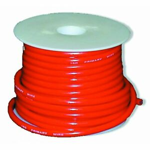 Primary Wire 10g. Red 500ft. Johnny Law Motors PW10500RED hot rod muscle custom