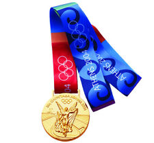 Gold Medal of the XXVIII Olympic Games in Athens 2004.