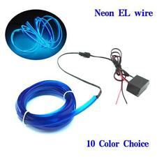 LED Lights Strip Flexible Car Interior Wire Neon Dance Festival With Ten Colors