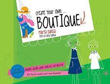 Create Your Own Boutique (pb) by Gina Samba Little Entrepreneurs Set NEW