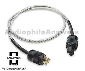 Analysis Plus Power Pro Oval Professional Power Cable IEC  6ft