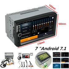 """2Din Car Mp5 Player Bluetooth 7""""Android 7.1 Touch Screen multimedia Stereo Radio"""