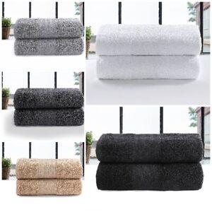 6x Large Jumbo Bath Sheets 100% Egyptian Combed Cotton Big Towels Premium Luxury