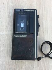 OLYMPUS PEARLCORDER S803 Microcassette dictation dictaphone Voice Sound Recorder