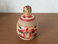 Japanese Vintage Ejiko by Yasuo Okazaki Naruko-kei 12cm With lid signed figure