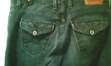 LUCKY BRAND NEESHA EASY RIDER DUNGAREES    BLUE JEANS SIZE 30 REG
