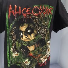 ALICE COOPER TOUR 17 Concert Tshirt  No Tag See Measurements Graphic Snake