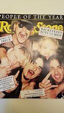 12/14/2000 12/21/2000 Rolling Stone Magazine Backstreet Boys People of The Year