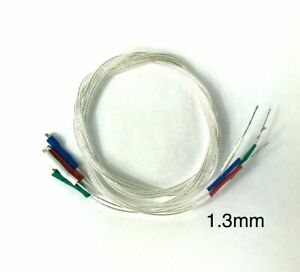 Tonearm Wire Set 30AWG 5N Pure Silver litz Wire 1.3mm terminal 400mm/15.75inches