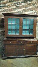 Antique 19th Century Pennsylvania Federal Step Back Dutch Cupboard