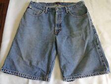 """Men's TOMMY JEANS shorts bermudas denim pre-owned sz 34 Hilfiger Length 21 1/2"""""""