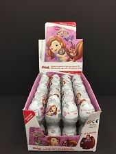 Disney Sofia The First Surprise Eggs in Toy & Chocolate For Girl -3 x Eggs