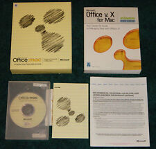 For MacIntosh - Microsoft Office:Mac vX Student & Teacher Edition - L@@K