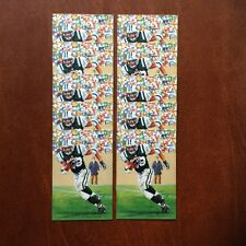 Curtis Martin New York Jets Lot of 10 unsigned Goal Line Art Cards