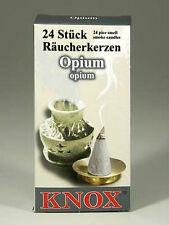 2 x Boxes German Incense - OPIUM - Smoker Raucherkerzen Smokerman Rachermann