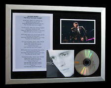 MICHAEL BUBLE Way You Look Tonight TOP QUALITY CD FRAMED DISPLAY+FAST World SHIP