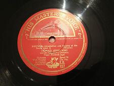 "FREDERICK JAGEL, LEOPOLD STOKOWSKI ""Siegfried"" (Wagner) 78rpm 12"" 1934 ED127  NM"